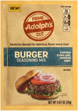 Adalph's® Prime Cut Burger Seasoning Mix