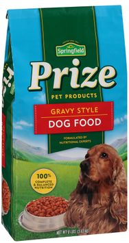 springfield® prize pet products gravy style dog food