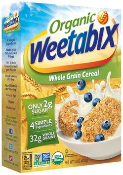 Organic Weetabix® Whole Grain Cereal