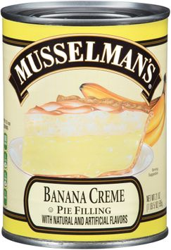 Musselman's® Banana Creme Pie Filling