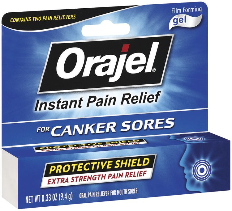 Orajel For Canker Sores Film Forming Gel Oral Pain Reliever