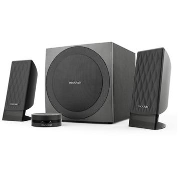 Microlab FC20 40W Subwoofer Stereo Speaker, Black