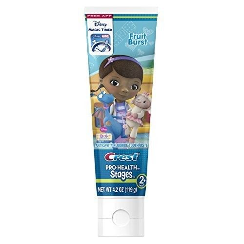 Oral-B Crest Pro-Health Stages Monsters, Inc. Kid's Toothpaste 4.2 Oz, Pack of 12 (Packaging May Vary)