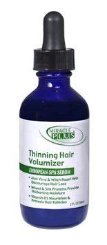 Miracle Plus Thinning Hair Volumizer European Spa Serum