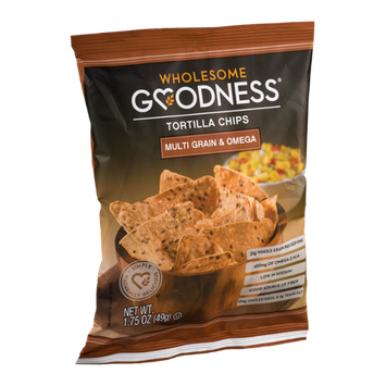 Wholesome Goodness Tortilla Chips Multi Grain & Omega