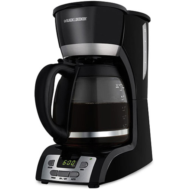 Black & Decker 12-Cup Programmable Coffeemaker Model DCM2160B