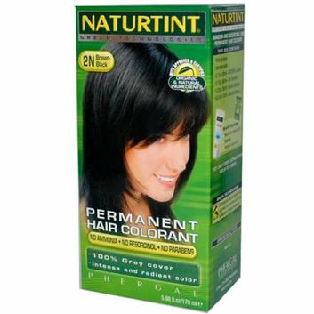 Naturtint Permanent Hair Color 2N Brown Black 5.45 fl oz