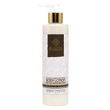 Alaffia- Cocoa and Shea Butter Intensive Body Lotion, Vanilla Mocha- 8 oz