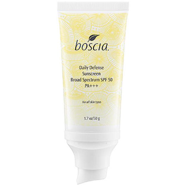 boscia Daily Defense SPF 50 PA+++  Sunscreen Broad Spectrum