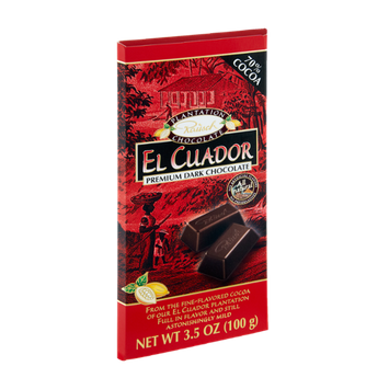Rausch El Cuador 70% Cocoa Premium Dark Chocolate Bar