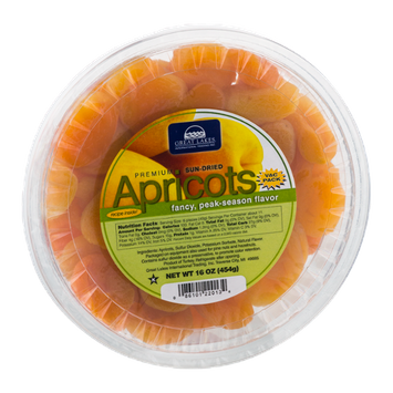 Great Lakes Apricots Sun-Dried