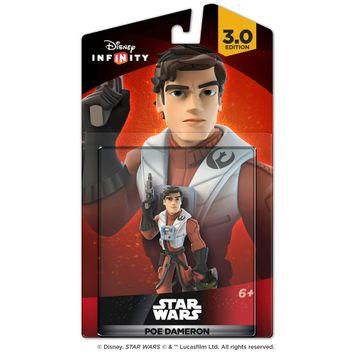 Disney Interactive Studios - Disney Infinity: 3.0 Edition Star Wars: The Force Awakens Poe Dameron Figure