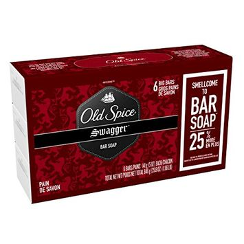 Old Spice Red Zone Swagger Scent Bar Soap Pack Of 6 - 29.8 Oz