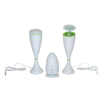 Lentek Twin Multi-Function Speaker Set
