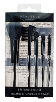 Danielle Enterprises Gallery Collection 5 Piece Makeup Brush Set
