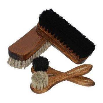 Deluxe Set of Shoe Care Brushes 6
