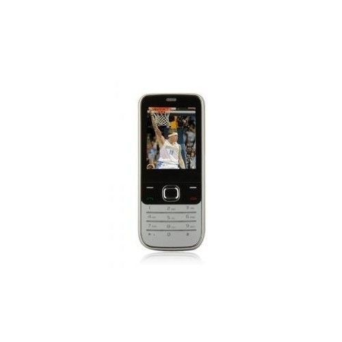Suave 2730 Dual Card Quad Band TV Function Cell Phone Black and Silver (2GB TF Card)