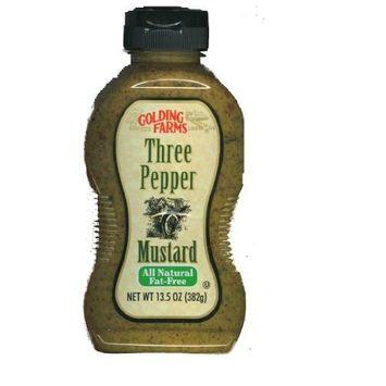 Golding Farms Three Pepper Mustard