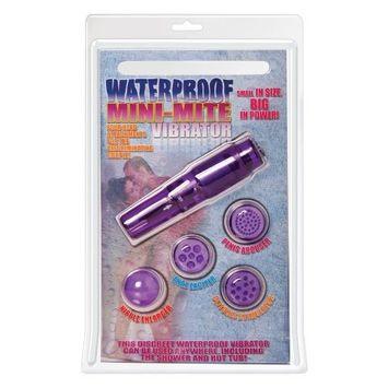 Pipedream Products, . Pipedreams Mini-Mite Waterproof Mini Vibrator, Purple