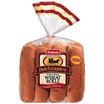 Stroehmann Arnold Wheat Hot Dog Rolls, 14 oz