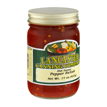 Lancaster Canning Company Hot Sweet Pepper Relish