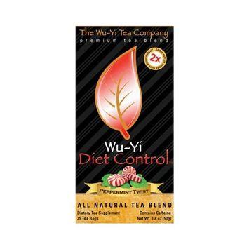 The Wu-yi Tea Company Wu-Yi Diet Control Tea 25 tea bags/box-Mild Mint Flavored