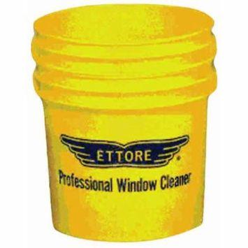 Ettore 3.5 Gallon Window Washing Bucket, Yellow, 82222