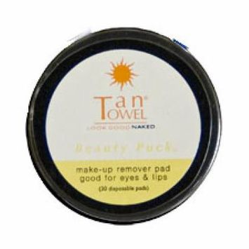 TanTowel Make-Up Remover Pads Beauty Puck