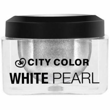 City Color Shadow & Highlight Mousse, White Pearl, 0.2 oz
