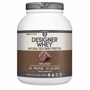 Designer Whey Protein Powder, Chocolate, 64 Ounce