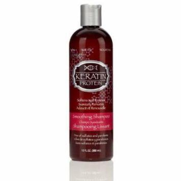 Hask Keratin Smooth Shampoo 12 oz. (Pack of 2)