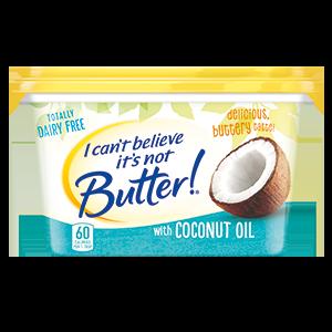 I Can't Believe It's Not Butter Coconut Oil