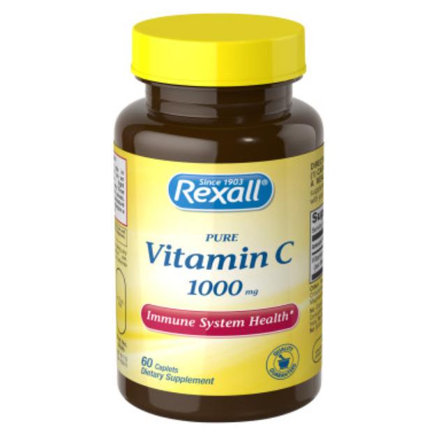 Rexall Vitamin C 1000 mg - Tablets, 60 ct