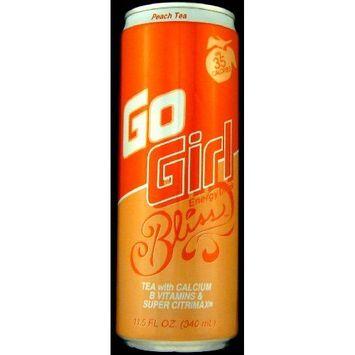 16 Pack - Go Girl Energy Drink - Peach Tea - 11.5oz.