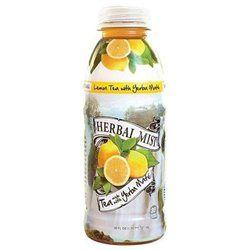 Herbal Mist Lemon Tea With Yerba Mate - Bottles (Pack of 12)
