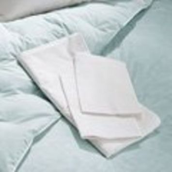 Soft Sleeper Visco Elastic Memory Foam King 20 x 36 Soft Sleeper Poly / Cotton Blend Zippered Pillow Protector. Fits all King pillows up to 20 x 36, including Visco Elastic Memory Foam Pillows, Feather Pillows, Down Pillows, Polyfill Pillows
