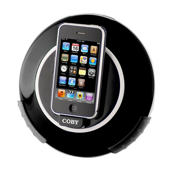 Coby Electronics Digital Speaker System for iPod/iPhone