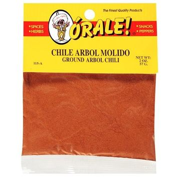 Orale Arbol Ground Chili, 2 oz