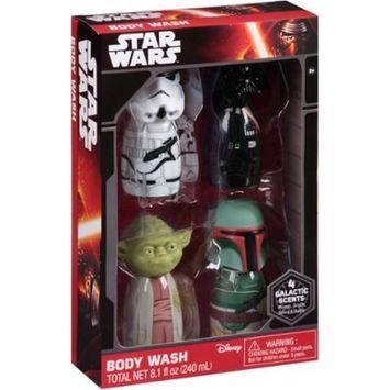 Star Wars Body Wash Set, 4 count