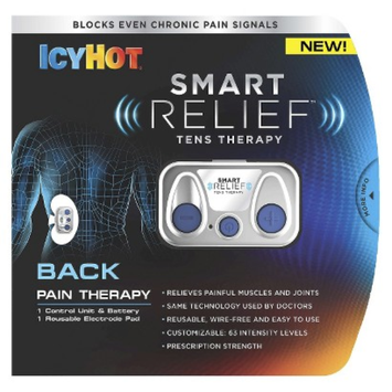 Icy Hot Smart Relief TENS Therapy Back Pain Starter Kit
