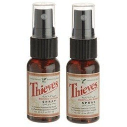 Young Living Essential Oils Thieves Spray 2 pack
