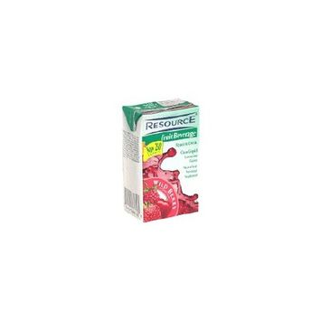 Resource Fruit Beverage with Wild Berry Flavor - 8 Oz, 27 Tetra Brick Pack