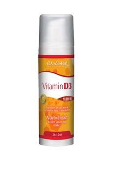 Vitamin D3 Travel AnuMed Intl 1.2oz Cream