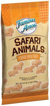 Famous Amos® Cookies Safari Animals
