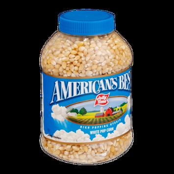 American's Best Jolly Time White Pop Corn