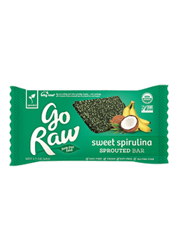 Go Raw Sweet Spirulina Sprouted Bars
