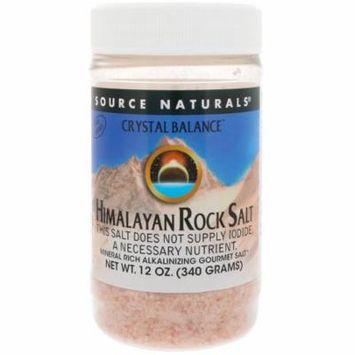 Source Naturals, Crystal Balance, Himalayan Rock Salt, Fine Grind, 12 oz(pack of 2)