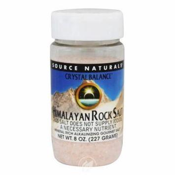 Source Naturals Himalayan Rock Salt by Crystal Balance Fine Grind, Mineral-Rich Alkalinizing Gourmet Salt, Pack of 2