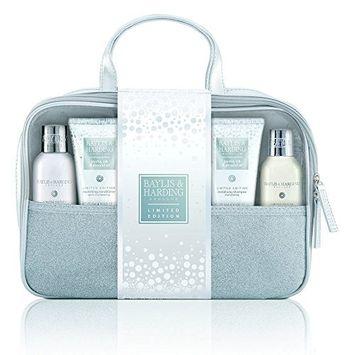 Baylis & Harding Jojoba, Silk and Almond Oil Bath & Body Travel Bag Set