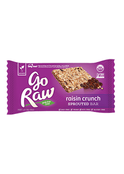 Go Raw Raisin CrunchSprouted Bars